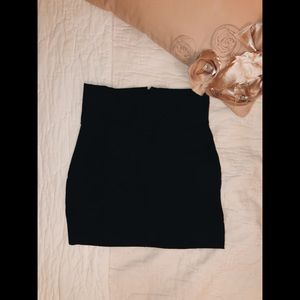 Never Worn! Black Tight Miniskirt